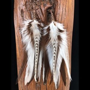 Real Feather Earring ~ CANYON DREAMS
